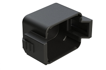 AT06-08S-CAP Protective Cover for 8-way Plug, Black