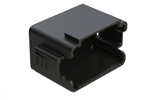 AT06-12S-CAP Protective Cover for 12-way Plug, Black.  Comparable to PN #1011-349-1205
