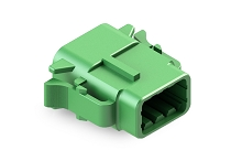 ATM06-08SC 8-Way Plug, Female, C Position Key.  Comparable to PN #DTM06-08SC