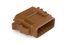 ATM06-12SD 12-Way Plug, Female, D Position Key.  Comparable to PN #DTM06-12SD