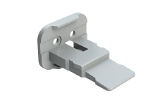 AW2S-A  2 pin plug wedge keyed A, Grey. Comparable to parts #W2SA, #W2SA-P012, #934481012