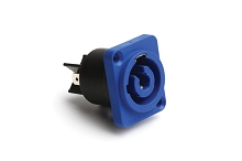 HP-3-MD PLASTIC CHASSIS SCREW  BLUE  3 POLE (power in) Compatible to part # NAC3MPA-1