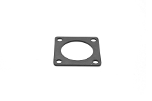 RTFD12B Square Flange Receptacle Gaskets, Shell Size 12, Thickness 0.8mm (±0.2).  Compatible to part # UTFD13B