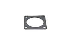 RTFD14B Square Flange Receptacle Gaskets, Shell Size 14, Thickness 0.8mm (±0.2).  Compatible to part # UTFD14B