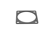 RTFD20B Square Flange Receptacle Gaskets, Shell Size 20, Thickness 0.8mm (±0.2).  Compatible to part # UTFD17B