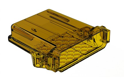 AIPXE-325X4B-E016  Clear, Ultem®, PCB Enclosure without Vent Hole. Comparable to PN# EEC-325X4B-E016