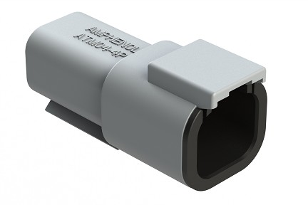 ATM04-4P 4-Way Receptacle, Male
