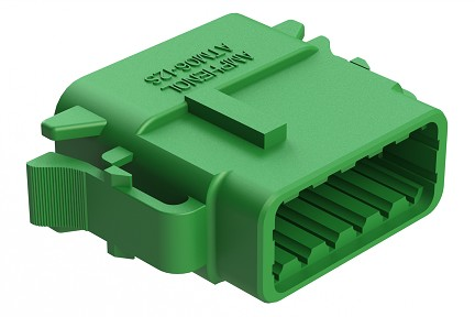 ATM06-12SC 12-Way Plug, Female, C Position Key.  Comparable to PN #DTM06-12SC