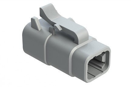 ATM06-4S 4-Way Plug, Female.  Comparable to PN #DTM06-4S