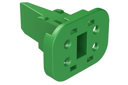 AW4S 4-Way Wedgelock Plug, Compatible to part # W4S