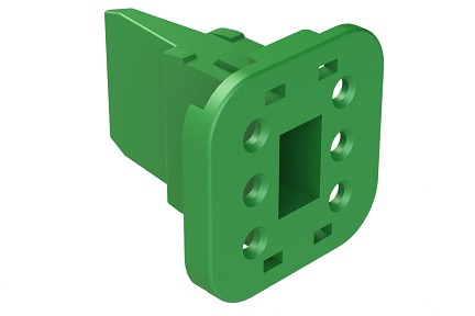 AW6S  6-Way Wedgelock Plug. Comparable to parts #W6S, 934484003