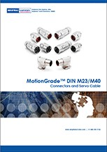 MotionGrade™ Din Style M23 and M40 Catalog