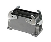 C146 10N016 500 2 Single side entry housing with high profile, E16. Comparable to PN# 19300160232