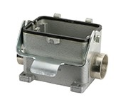 C146 10N048 803 1 Single side entry housing with stud, E28. Comparable to PN# 19300480293