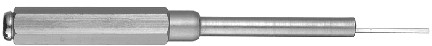 FG02001461 Removal tool for turned crimp contacts, Heavy|mate Series E and M