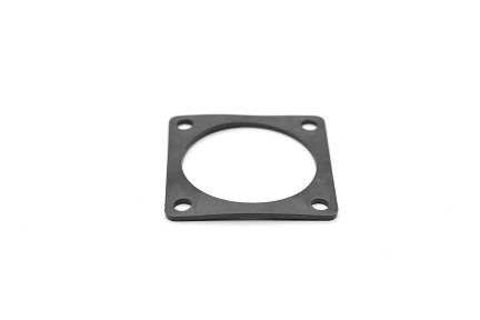 RTFD16B Square Flange Receptacle Gaskets, Shell Size 16, Thickness 0.8mm (±0.2).  Compatible to part # UTFD15B